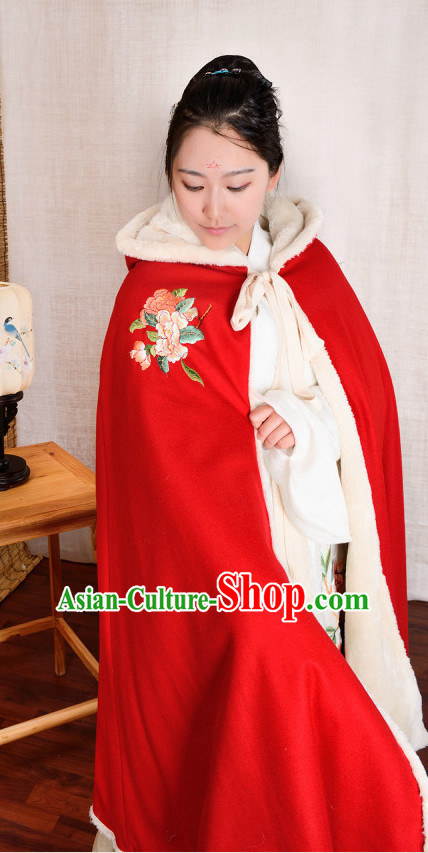 Chinese Traditional Hanfu Mantle Cape