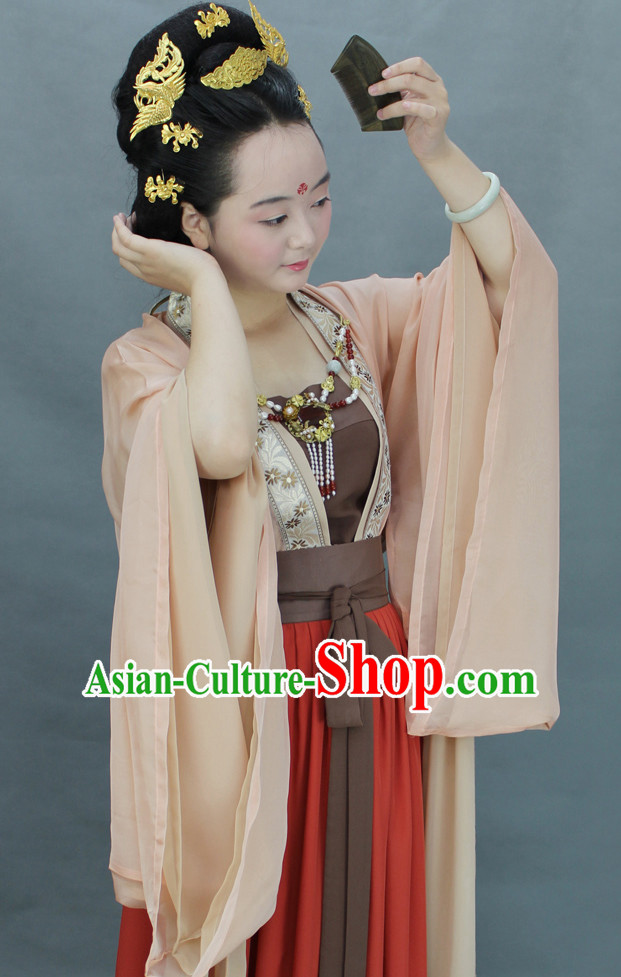 Chinese Guzhuang Clothes Hanfu Designer Dresses Plus Size Costumes for Women
