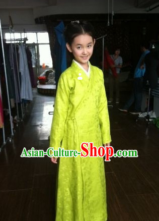 Chinese Traditional Ancient Hanfu Dress for Kids