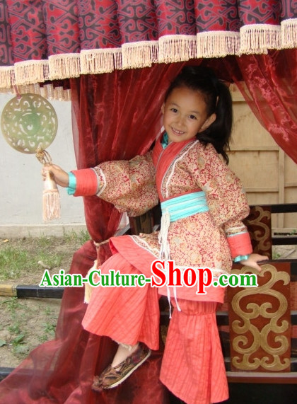 Traditional Ancient Chinese Hanfu Dress for Kids