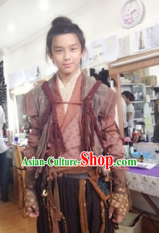 Traditional Ancient Chinese Superhero Costumes for Boys