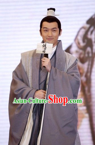 Traditional Ancient Chinese Scholar Costumes for Men