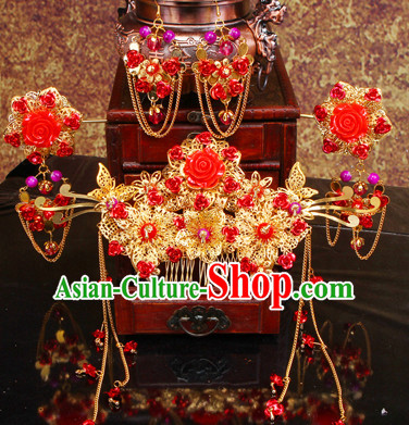 Ancient Chinese Wedding Headpieces for Women