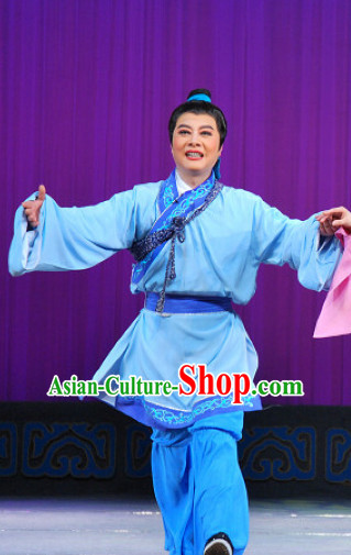 Chinese Goddess Marriage Dong Yong Farmer Costumes National Costume Complete Set