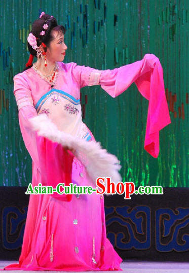 Chinese Classical Fan Dance Costumes
