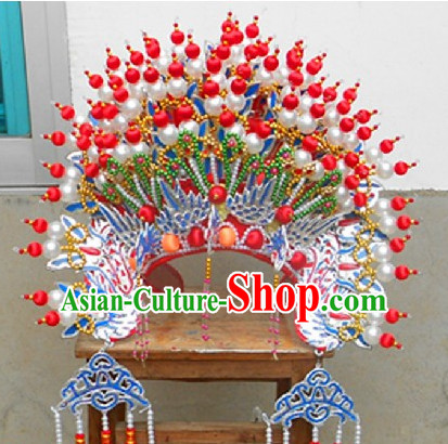 Chinese Opera Phoenix Crown Goddess Matsu of the Sea Hat