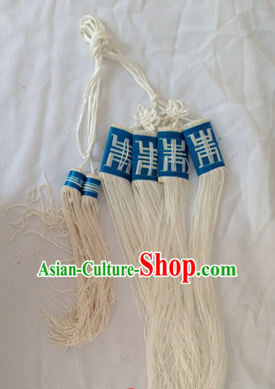 Chinese Handmade Beijing Opera Long Robe Belt Decorations