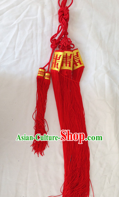 Chinese Handmade Beijing Opera Long Robe Belt