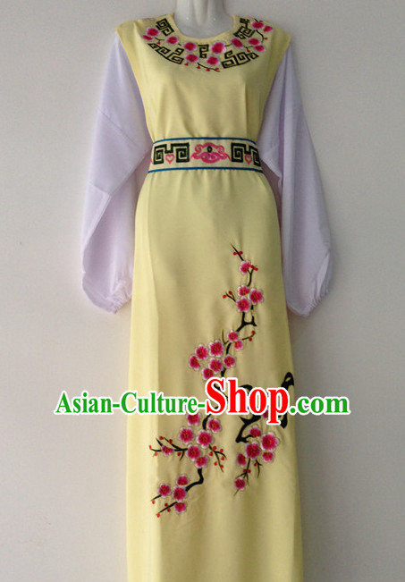 Chinese Opera Plum Blossom Embroidered Clothes