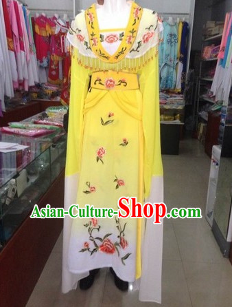 Long Sleeve Chinese Opera Fairy National Costumes