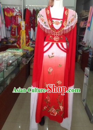 Long Sleeve Chinese Opera Hua Dan Costumes