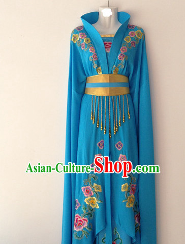 Long Sleeve Hua Dan Classical Dance Costumes for Women