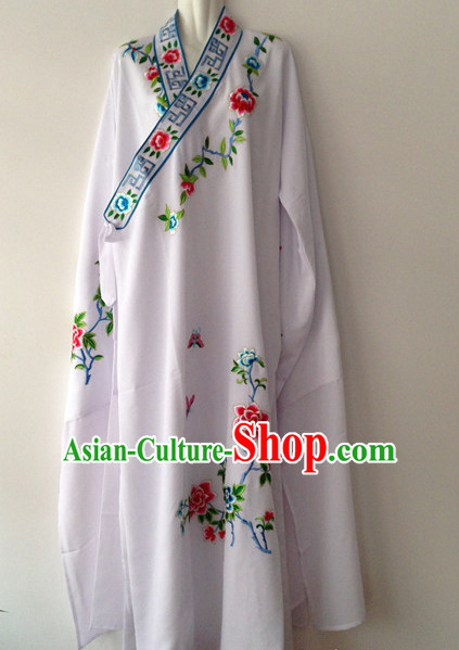 Long Sleeve Beijing Opera Long Gown for Men