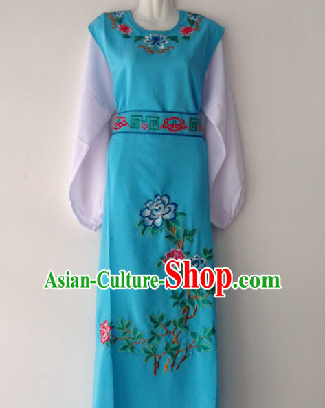 Asian Fashion Chinese Beijing Opera Young Men Embroidered Costumes