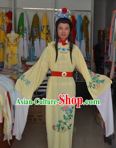 Asian Fashion Chinese Jia Baoyu Costumes and Coronet Complete Set