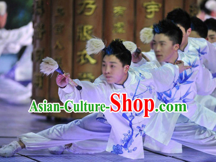 Asian Fashion Chinese Folk Performance Costumes for Kids