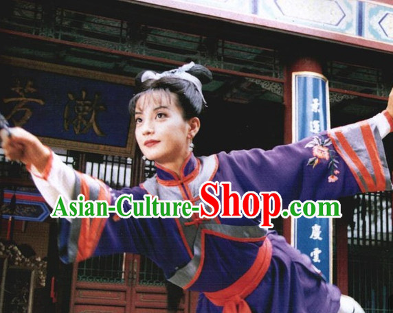 Traditional Chinese Zhao Wei Xiao Yanzi Little Swallow Costumes Princess Returning Pearl