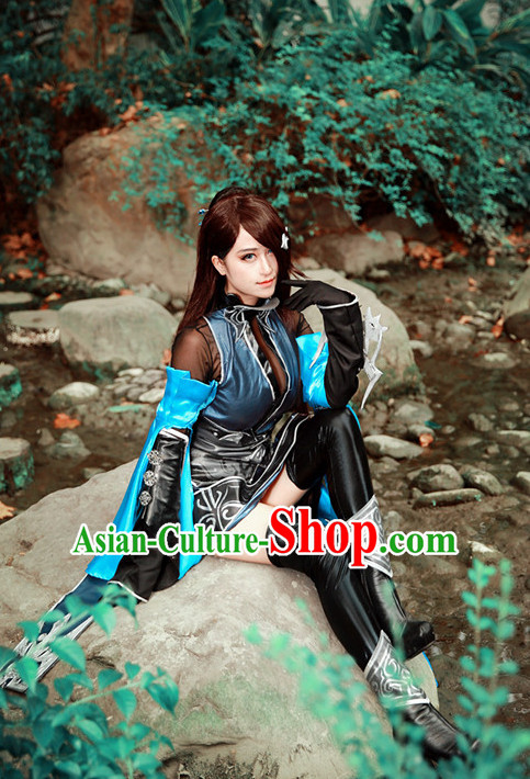 Top Asian Halloween Sexy Costumes and Accessories Complete Set