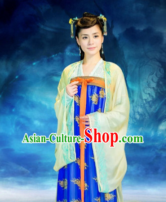 Top Asian Chinese Hanfu Wife Costumes Halloween Costumes for Women