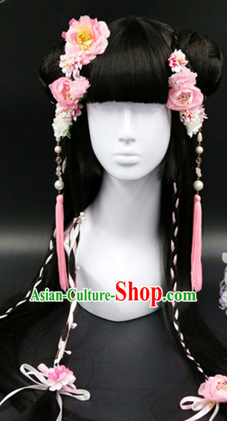 Chinese Traditional Handmade Flower Hair Accessories
