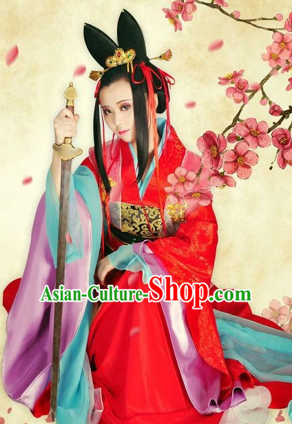 Chinese costumes traditional clothing hanfu traditional dress garment for men women kids boys girls kid folk