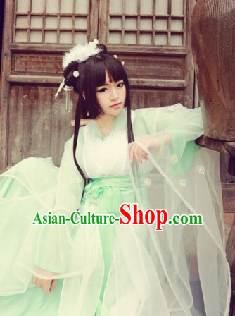 Chinese Ancient Fairy Hanfu Garment for Women