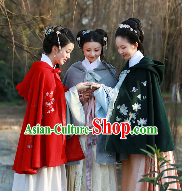 Chinese Ancient Mantle for Women