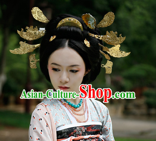 Chinese Ancient Brides Female Hair Ornaments