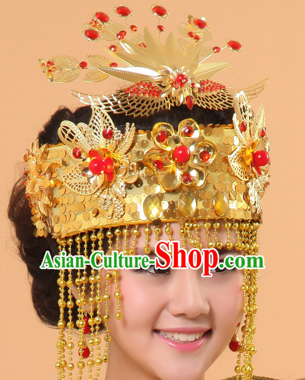 Chinese Ancient Wedding Crown Hair Accessories