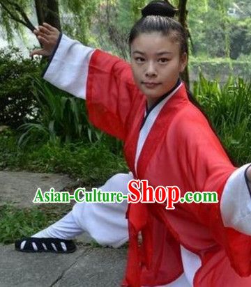 Chinese Folk Wudang Mountain Taoist Uniform for Women