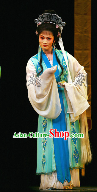 Asian Chinese Traditional Dress Theatrical Costumes Ancient Chinese Clothing Nun Costumes and Headwear