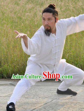 China Traditional Taoist Clothing Complete Set for Men