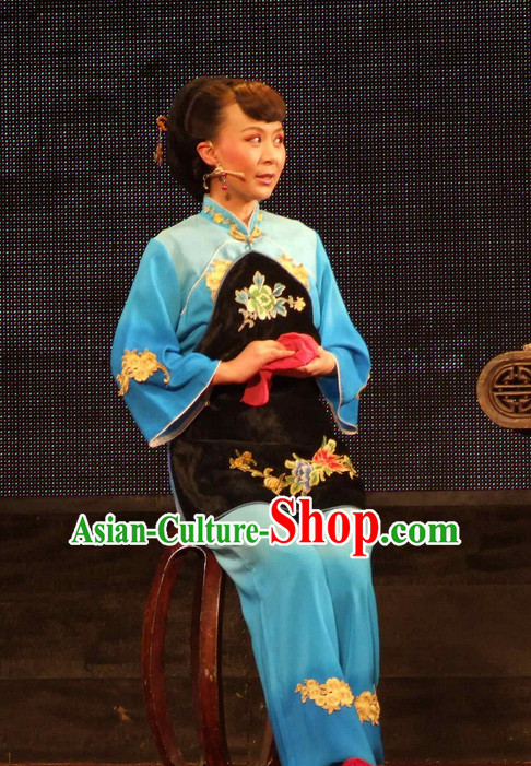 Chinese Traditional Dresses Theatrical Costumes Ancient Chinese Clothing Waiter Costumes