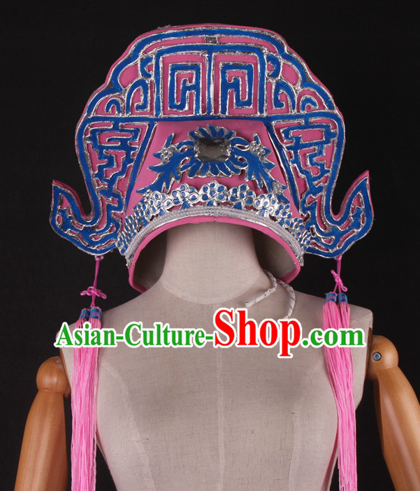 Traditional Chinese Handmade Opera Hat for Men