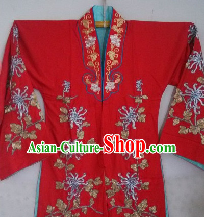 Traditional Chinese Peking Opera Wedding Costumes
