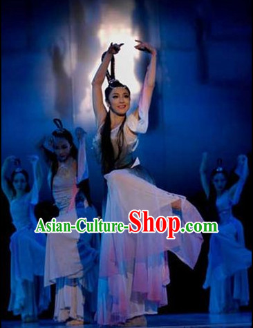 Asia Fashion Chinese Dance Costumes Dance Apparel