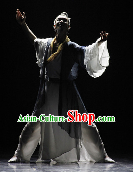 Classical Chinese Dance Costumes for Men