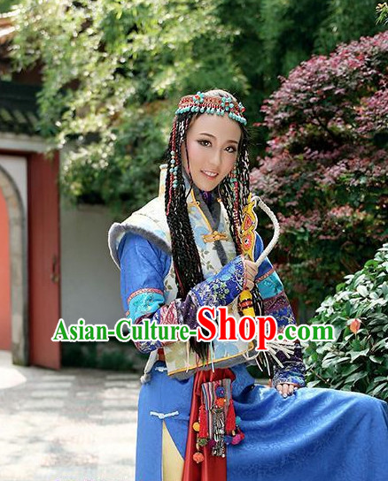 Chinese Traditional Swordsmen Costumes