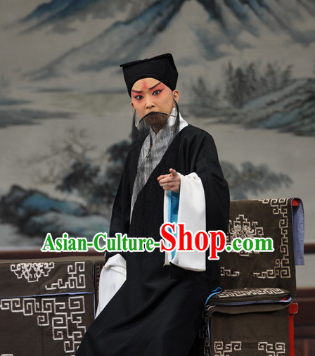 Chinese Peking Opera Costumes Old Men Lao Sheng Costume