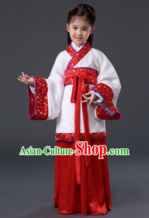 Chinese Hanfu Asian Fashion Japanese Fashion Plus Size Dresses Traditional Clothing Asian Empress Hanfu Clothing for Kids