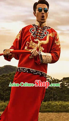 Traditional Chinese Wedding Dress for Men