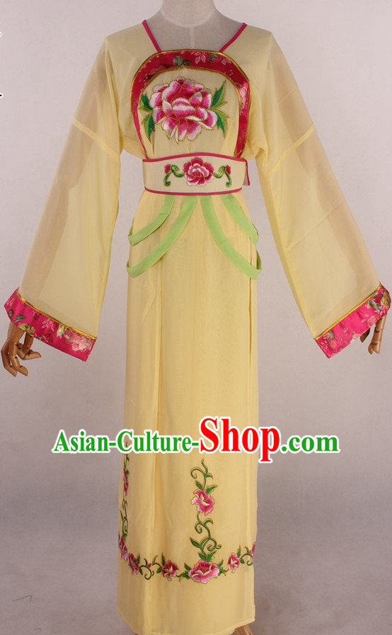 Chinese Traditional Oriental Clothing Theatrical Costumes Opera Female Costume