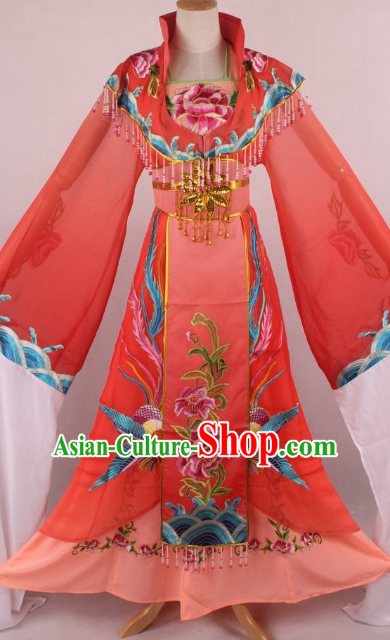 Chinese Traditional Oriental Clothing Theatrical Costumes Opera Phoenix Costumes