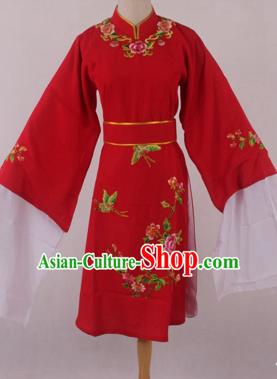 Chinese Traditional Oriental Clothing Theatrical Costumes Opera Flower Embroidered Costumes for Women