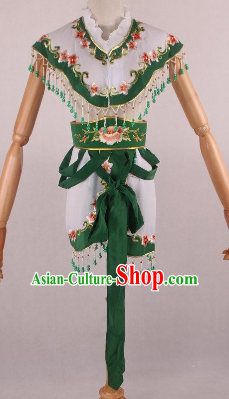 Chinese Traditional Oriental Clothing Theatrical Costumes Opera Female Costumes