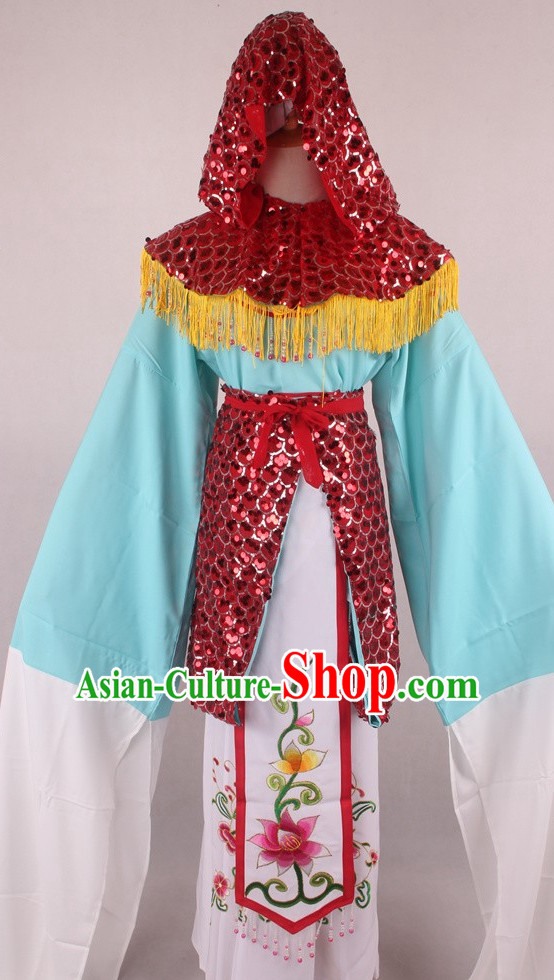 Chinese Traditional Dress Oriental Clothing Theatrical Costumes Opera Ladies Costumes