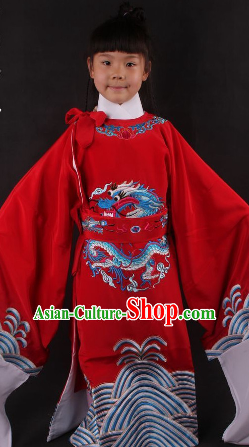 Traditional Chinese Dress Chinese Clothes Ancient Chinese Clothing Theatrical Costumes Opera Cultural Costume for Kids