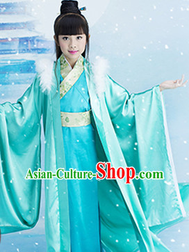 Traditional Chinese Princess Costumes for Kids Girls