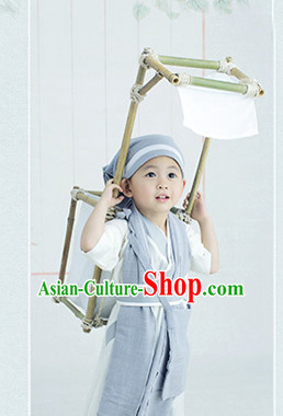 Traditional Chinese Ning Caichen Costumes for Kids Boys
