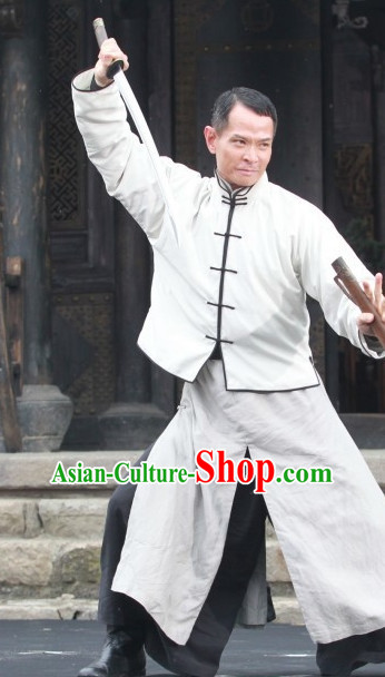 Traditional Chinese Kung Fu Master Uniform Clothes